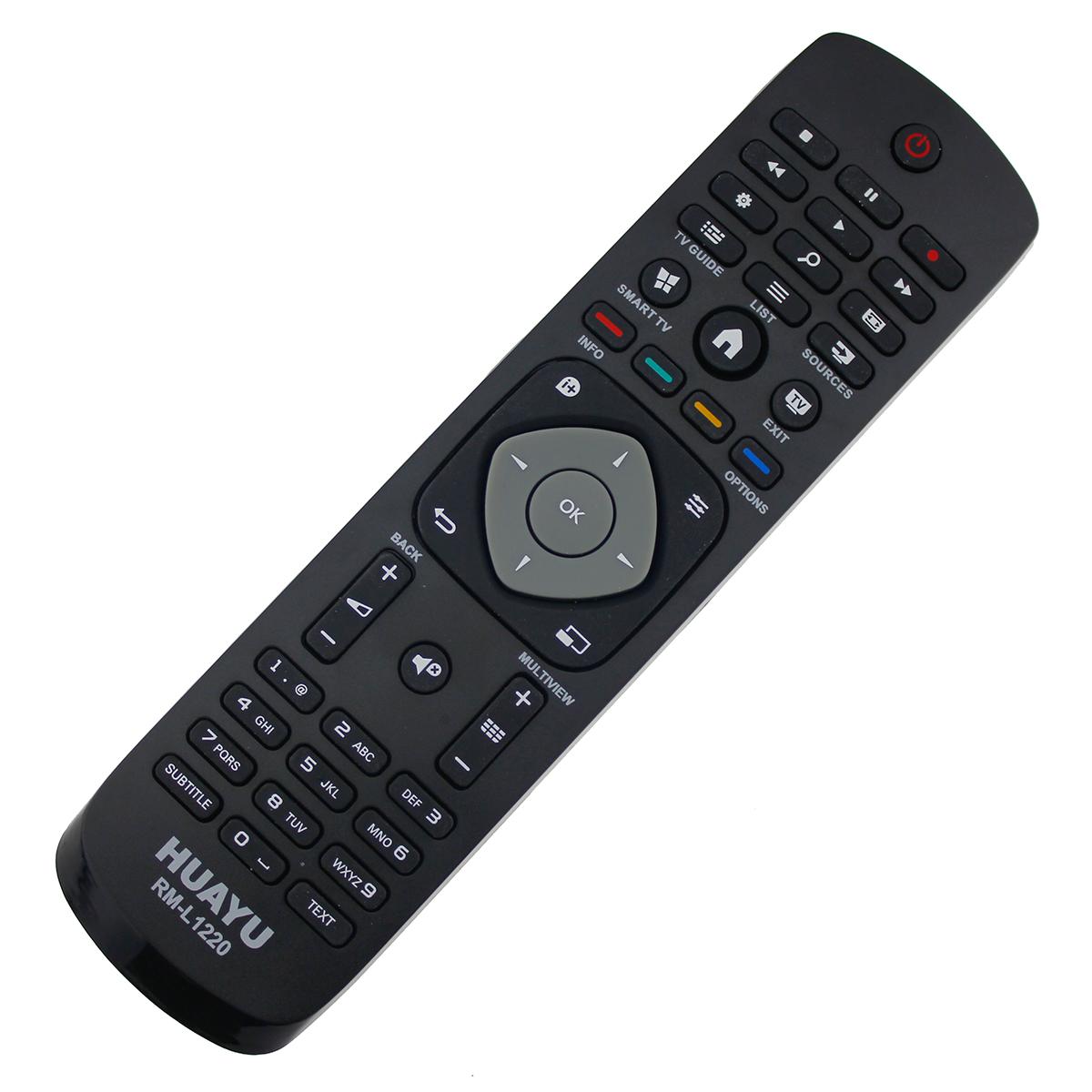ersatz fernbedienung philips ykf354 001 996590009952 led 3d tv remote ebay. Black Bedroom Furniture Sets. Home Design Ideas